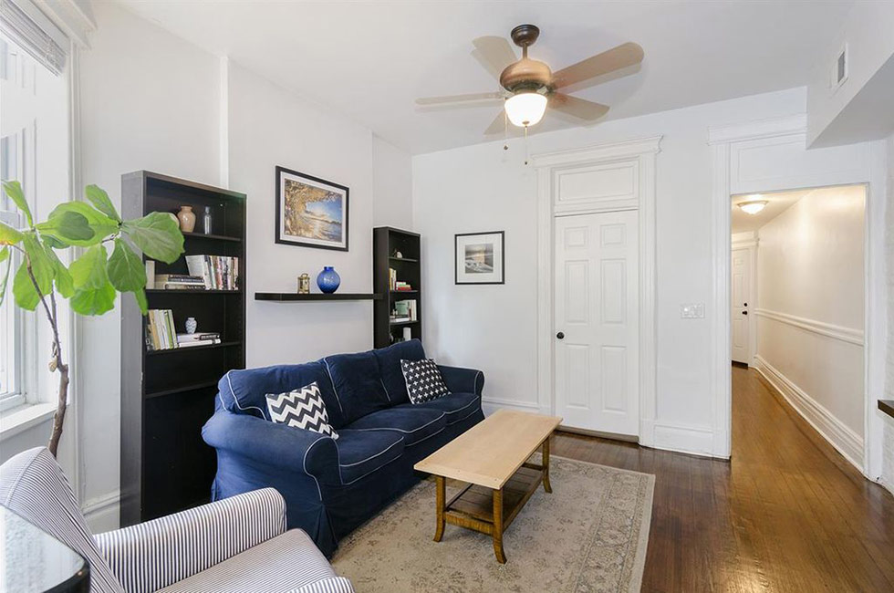 145 Sherman Ave 1R | Living room