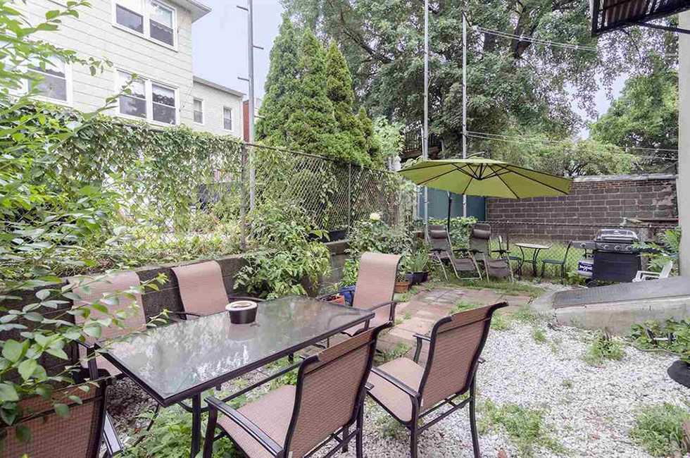 145 Sherman Ave 1R | Backyard