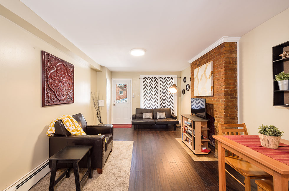 256A Palisade Ave - Living Room